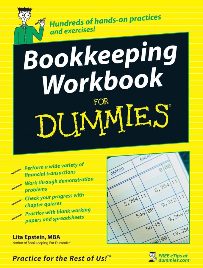 Lita Epstein Bookkeeping Workbook For Dummies lita epstein bookkeeping for dummies