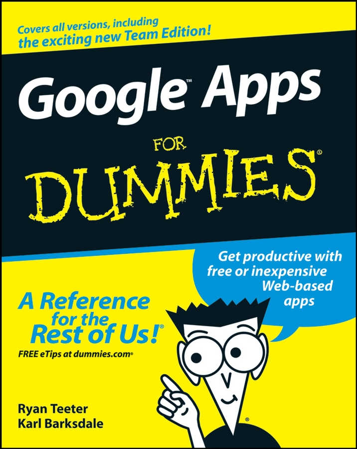 Ryan Teeter Google Apps For Dummies judy apps voice and speaking skills for dummies