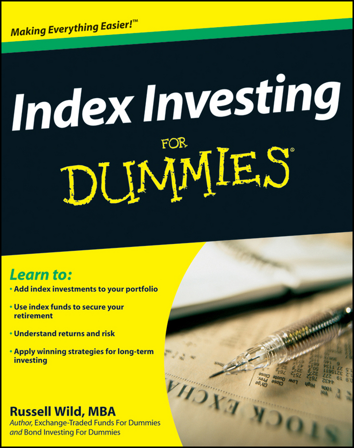 Russell Wild Index Investing For Dummies todd lofton getting started in exchange traded funds etfs