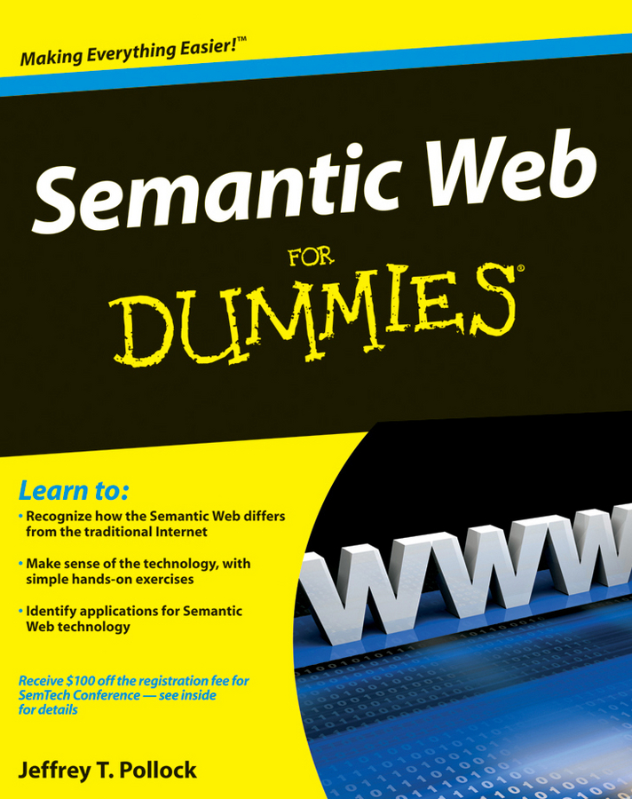 Jeffrey Pollock T. Semantic Web For Dummies adriatica a3436 1113q