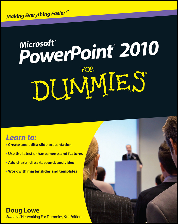 Doug Lowe PowerPoint 2010 For Dummies doug lowe javafx for dummies