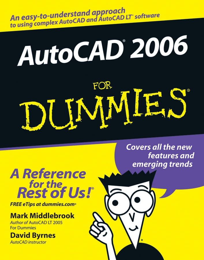 David Byrnes AutoCAD 2006 For Dummies mag lite m3a102e