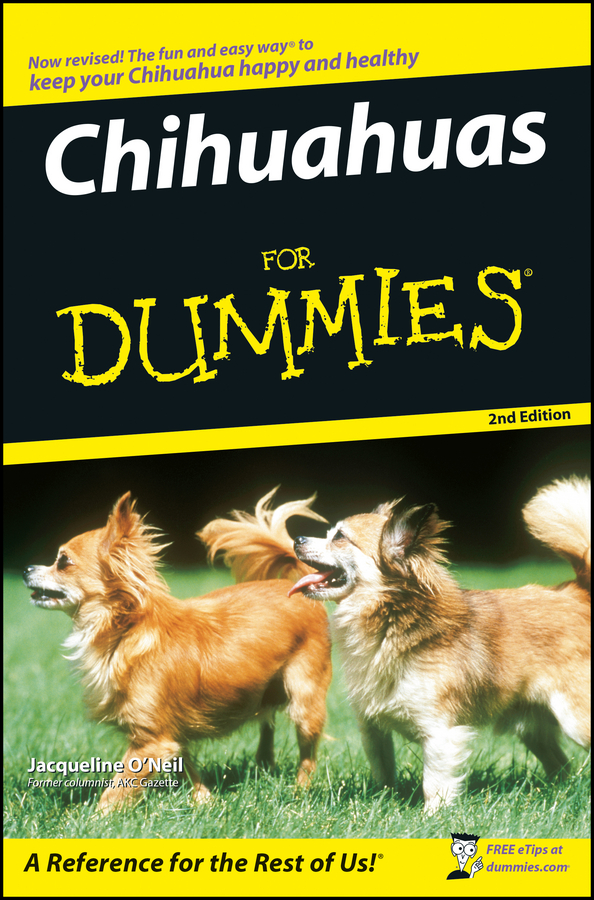 Jacqueline O'Neil Chihuahuas For Dummies to your taste auto accessories черный деловая одежда