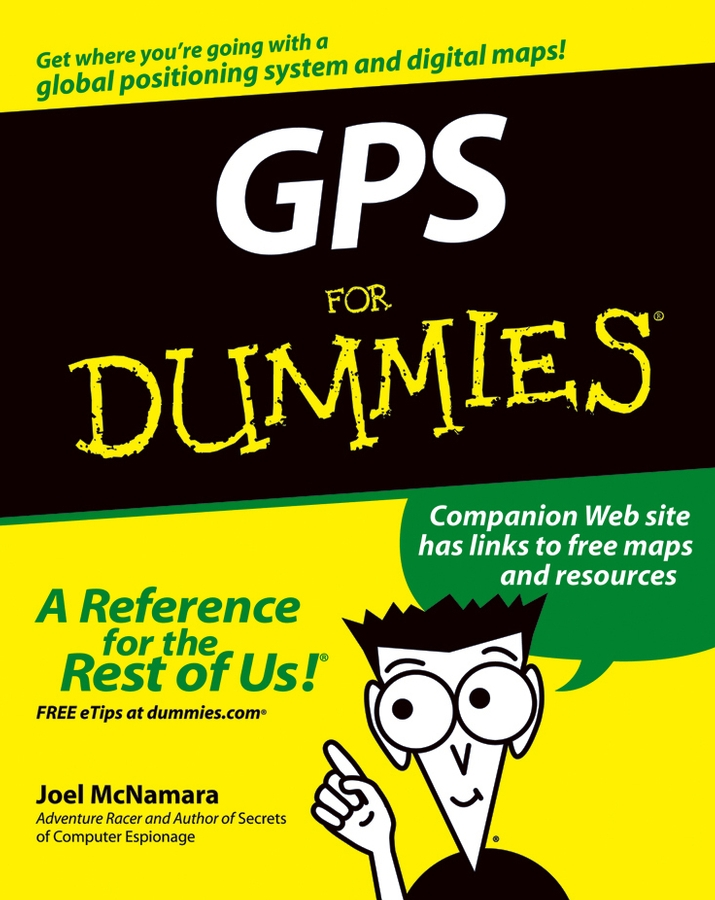 Joel McNamara GPS For Dummies 1pc 0 130km h gps speedometers 85mm speed milometers 0 80mph odometers 9 32v for auto with gps antenna and backlight