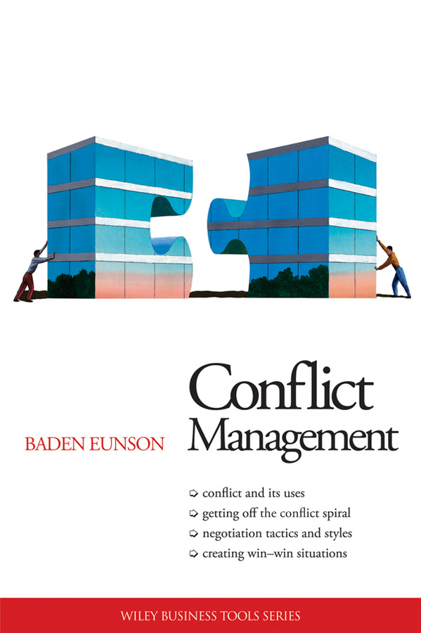 Baden Eunson Conflict Management bullying and behavioural conflict at work