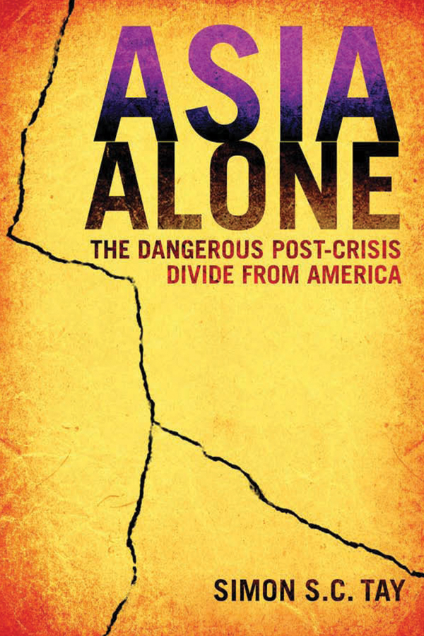 Simon S. C. Tay Asia Alone. The Dangerous Post-Crisis Divide from America сумка для инструментов the united states the world up to sata 14 95183 sata