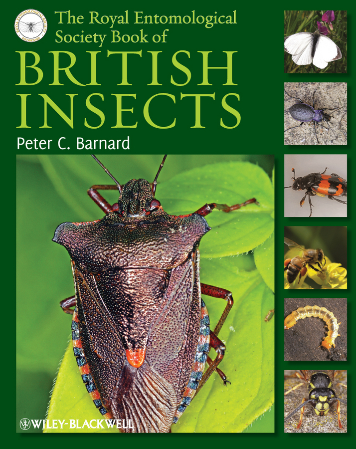 Peter Barnard C. The Royal Entomological Society Book of British Insects the british isles cd