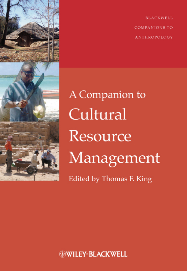 Thomas King F. A Companion to Cultural Resource Management бра globo 78305