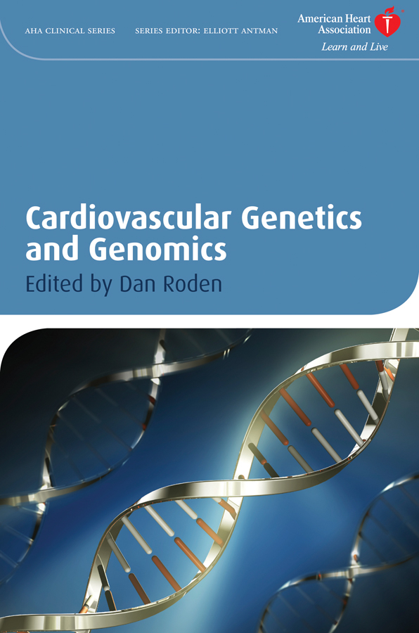 Dan Roden M. Cardiovascular Genetics and Genomics тумба навесная акватон мадрид 80