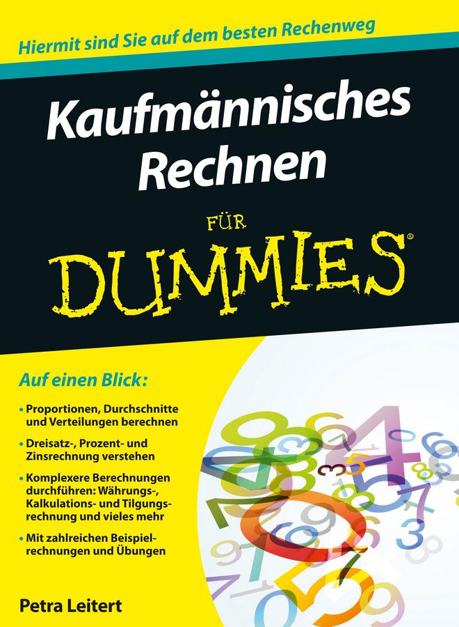 цены на Petra Leitert Kaufmännisches Rechnen für Dummies