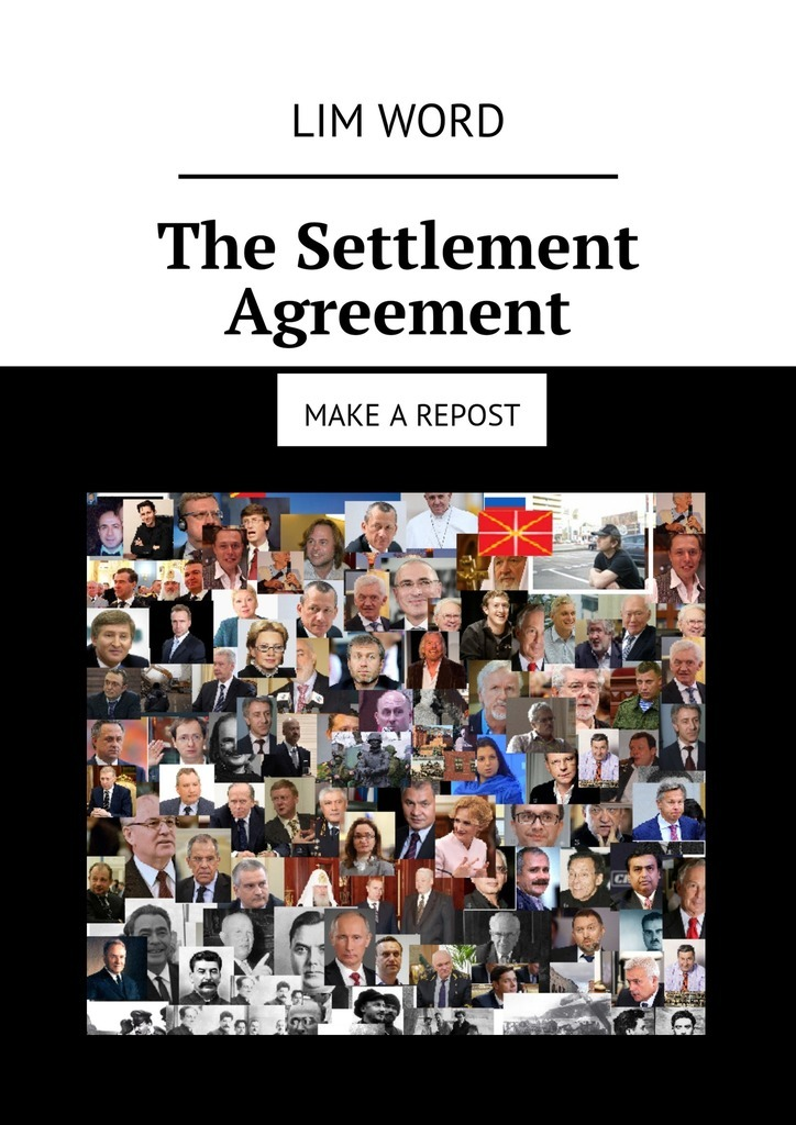 Lim Word The Settlement Agreement. Make a repost what s in there