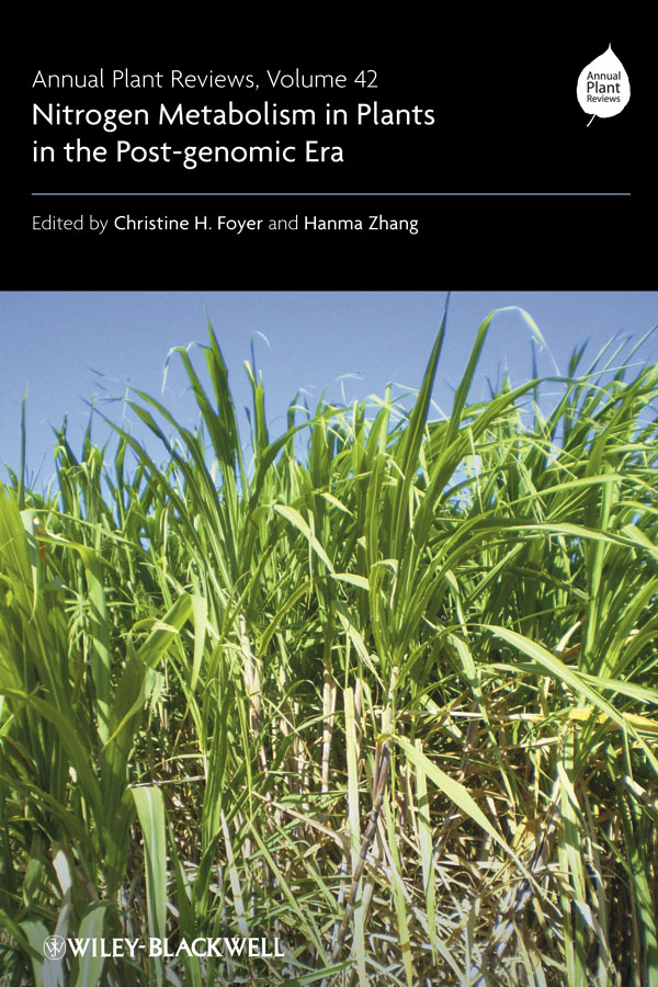 Foyer Christine Annual Plant Reviews, Nitrogen Metabolism in Plants in the Post-genomic Era