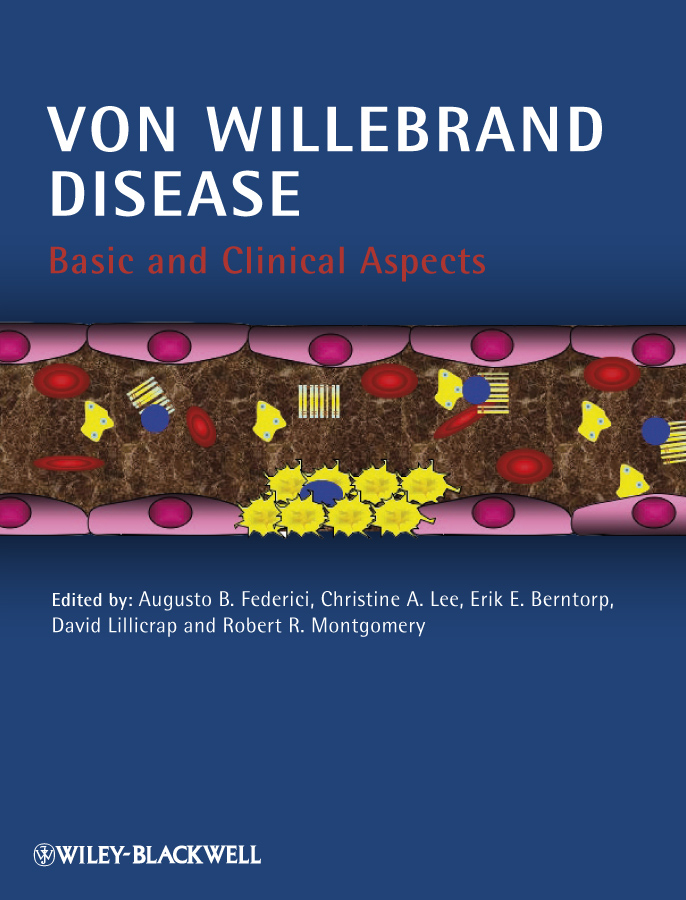 David Lillicrap Von Willebrand Disease. Basic and Clinical Aspects все цены