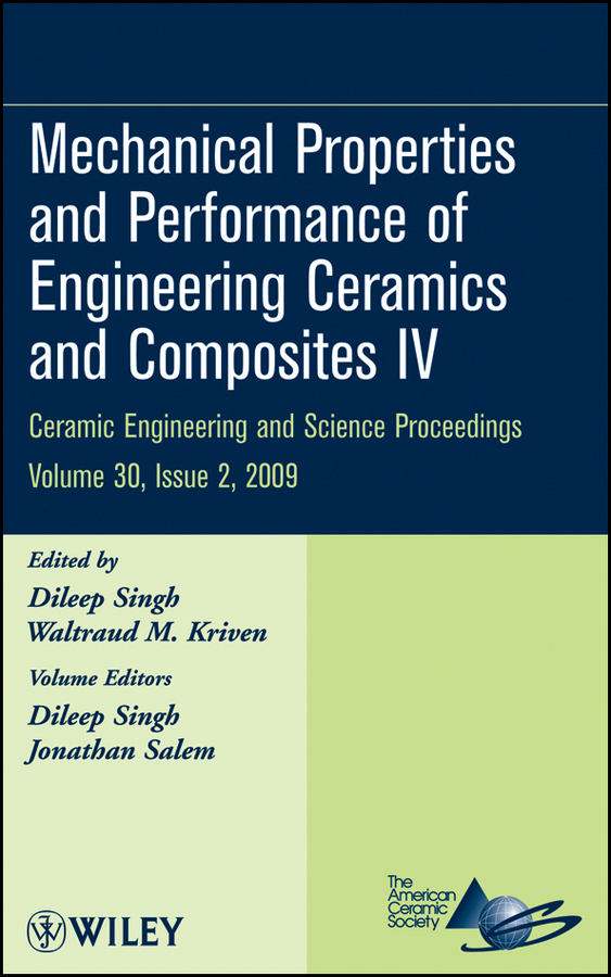 купить Jonathan Salem Mechanical Properties and Performance of Engineering Ceramics and Composites IV онлайн