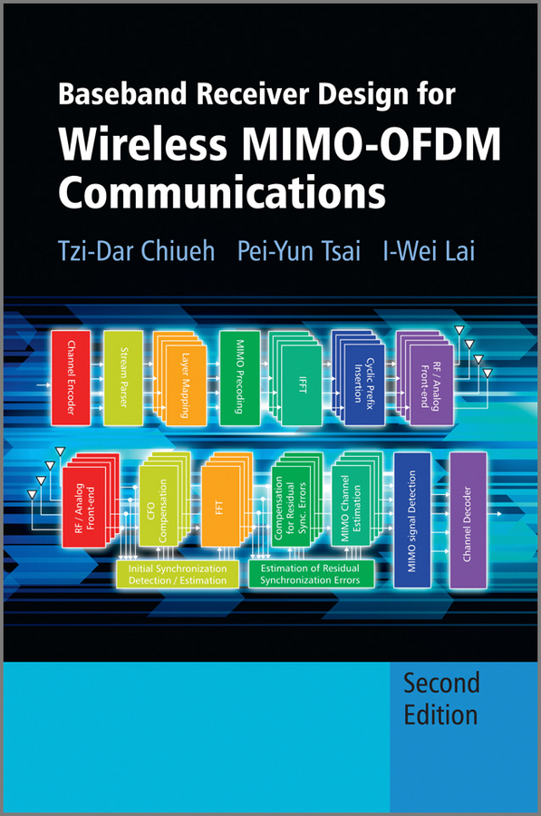 Tzi-Dar Chiueh Baseband Receiver Design for Wireless MIMO-OFDM Communications kostadinov todor pavlov bistatic sar isar fsr theory algorithms and program implementation