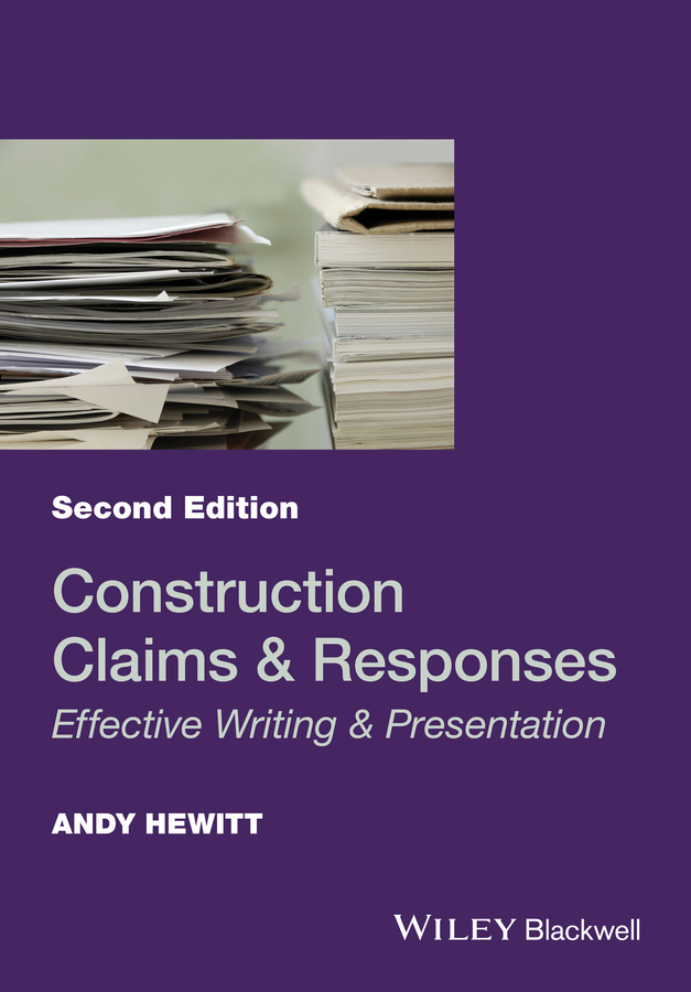 Andy Hewitt Construction Claims and Responses. Effective Writing and Presentation the bear the bull and the types of sentiment