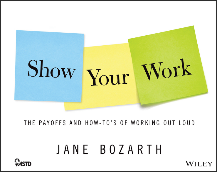 Jane Bozarth Show Your Work