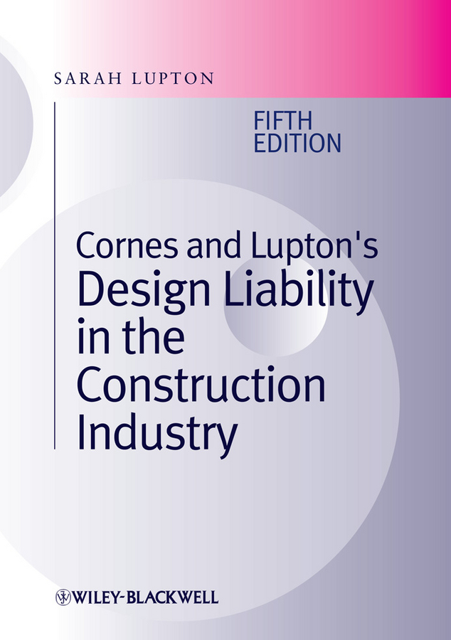 Sarah Lupton Cornes and Lupton's Design Liability in the Construction Industry wastewater treatment design construction and operation