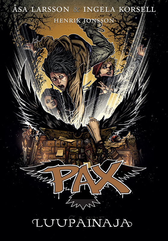 Оса Ларссон Luupainaja. Pax 9. raamat оса ларссон kummituslaps pax 3 raamat