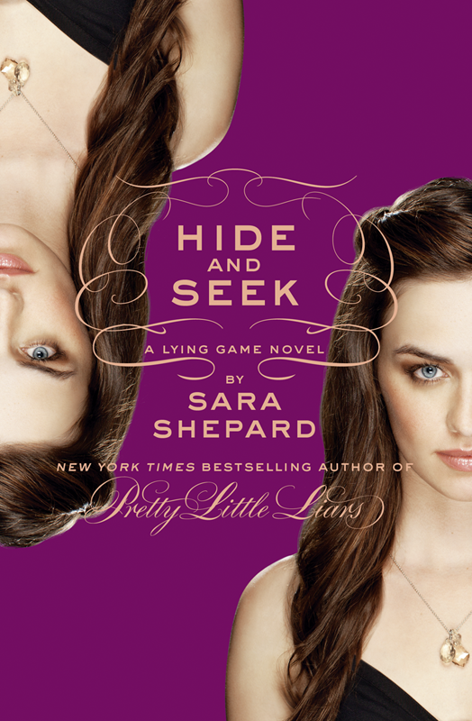 Sara Shepard Hide and Seek: A Lying Game Novel hide and seek блокнот