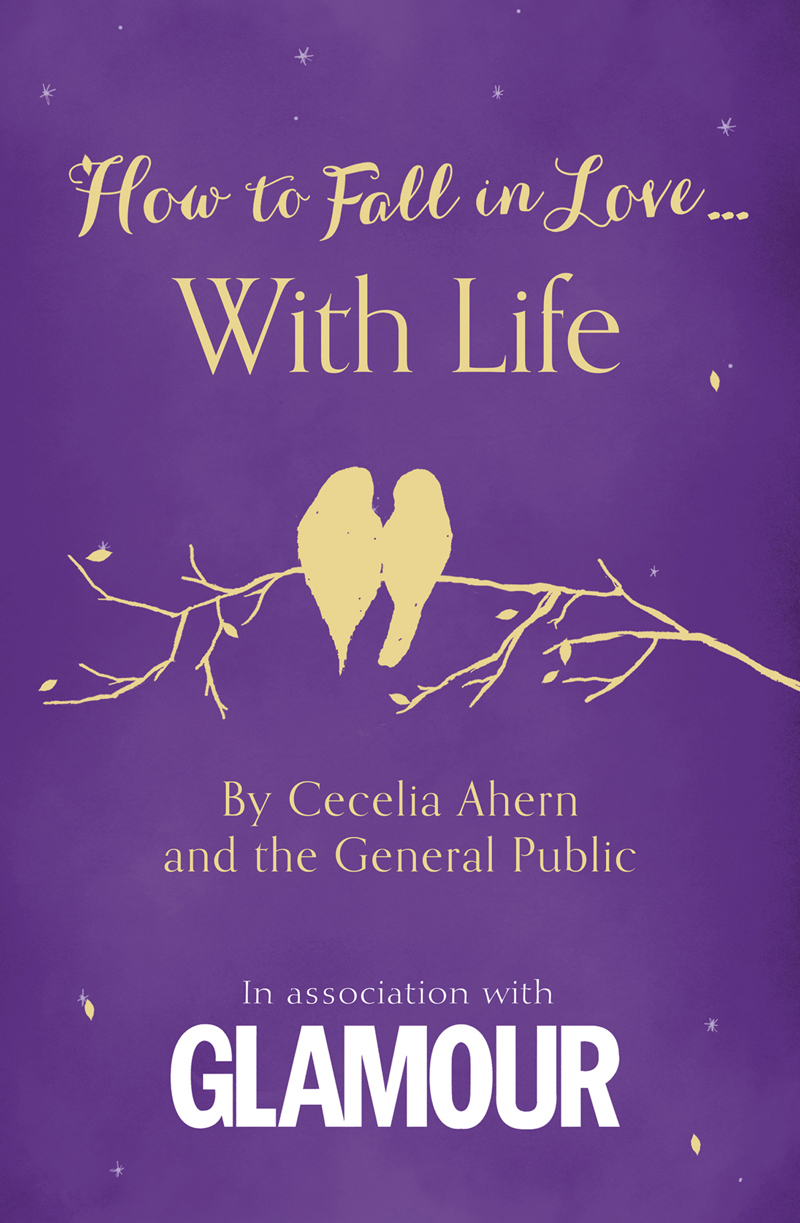 Cecelia Ahern How to Fall in Love... With Life cecelia ahern where rainbows end