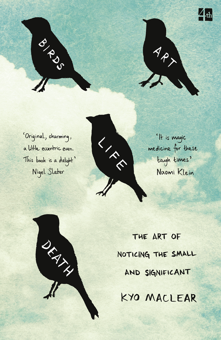 Kyo Maclear Birds Art Life Death: The Art of Noticing the Small and Significant brokis night birds silhouette of birds in the evening sky freedom of bird flight a poetic charm and unprecedented dynamism