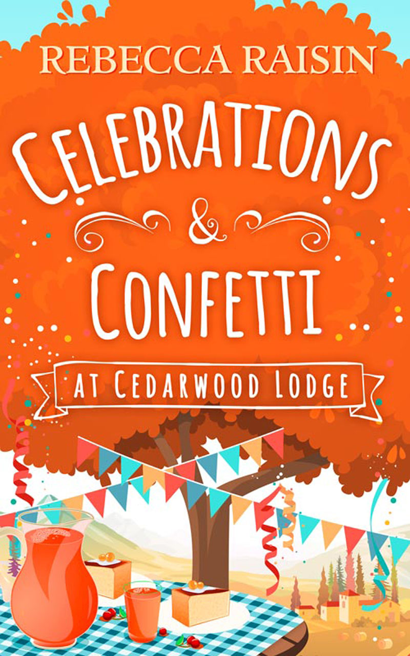 Rebecca Raisin Celebrations and Confetti At Cedarwood Lodge: The cosy romantic comedy to fall in love with! одежда больших размеров fall in love with sugar 6005 2014 mm