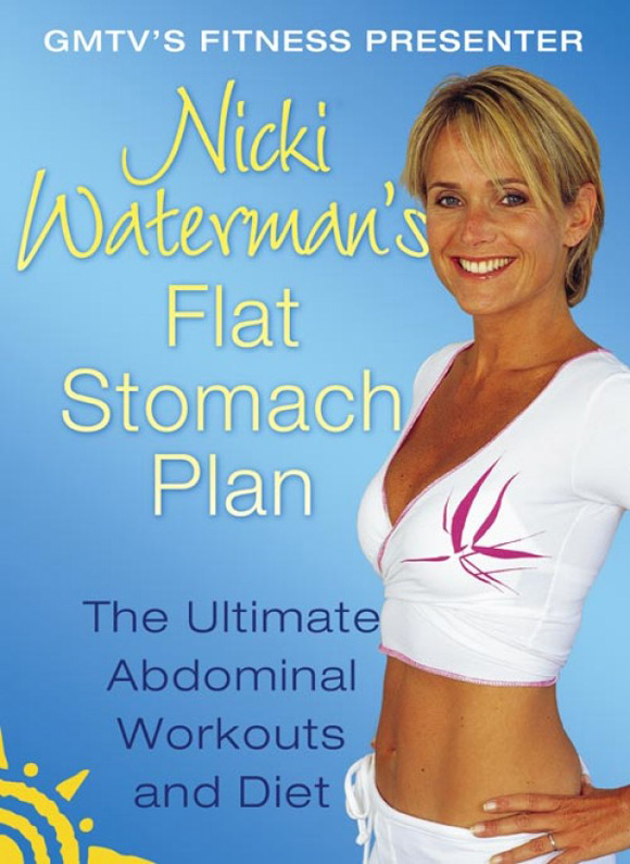 Nicki Waterman Nicki Waterman's Flat Stomach Plan: The Ultimate Abdominal Workouts and Diet new wireless smart multi function ems abdominal training device hous abdominal muscles loss slimming massager abs fit abdomen