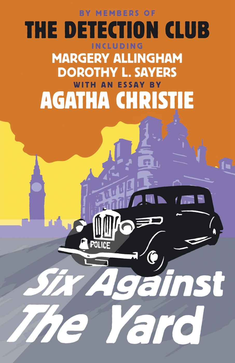Margery Allingham Six Against the Yard the big six