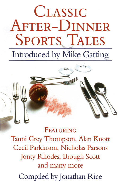 Jonathan Rice Classic After-Dinner Sports Tales male longsleve asics 146394 0773 sports and entertainment for men sport clothes