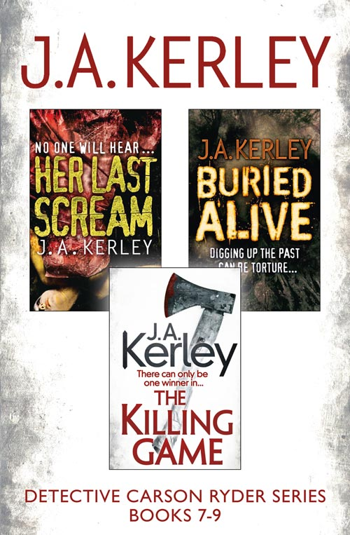 J. Kerley A. Detective Carson Ryder Thriller Series Books 7-9: Buried Alive, Her Last Scream, The Killing Game the polyphonic spree