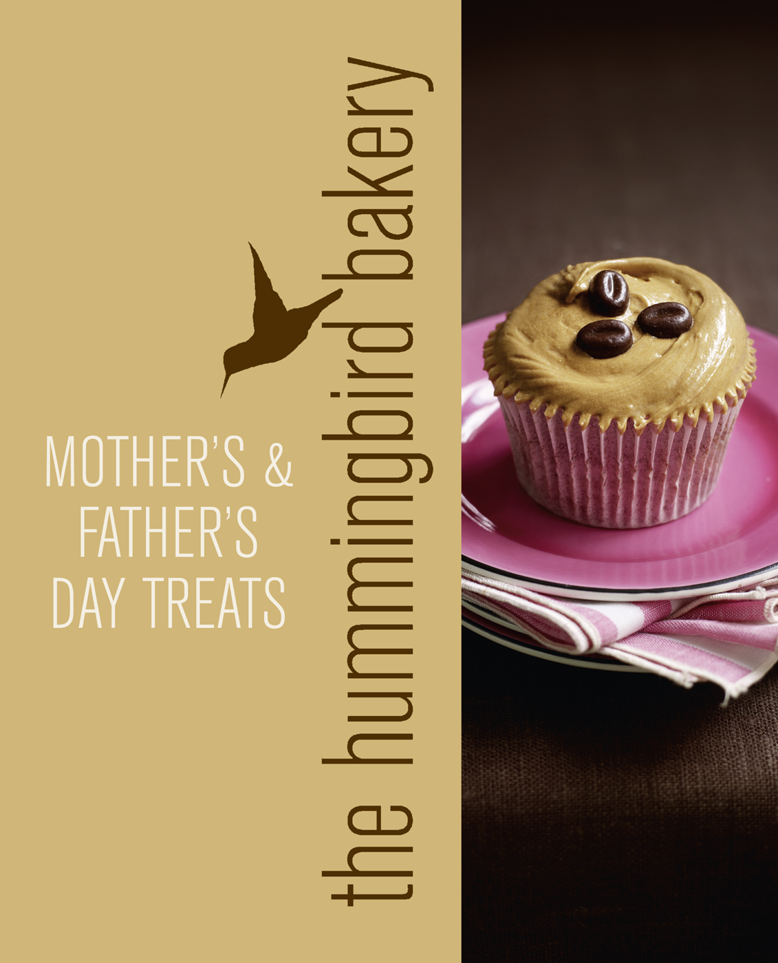 Tarek Malouf Hummingbird Bakery Mother's and Father's Day Treats: An Extract from Cake Days three tier cream acrylic square cake stand