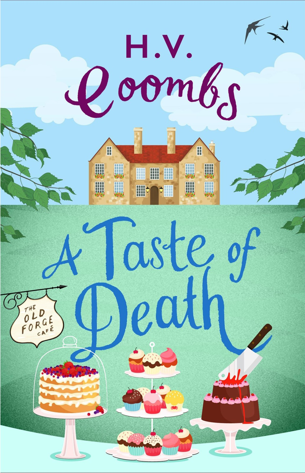H.V. Coombs A Taste of Death: The gripping new murder mystery that will keep you guessing rob hamilton the whitechapel murder mystery