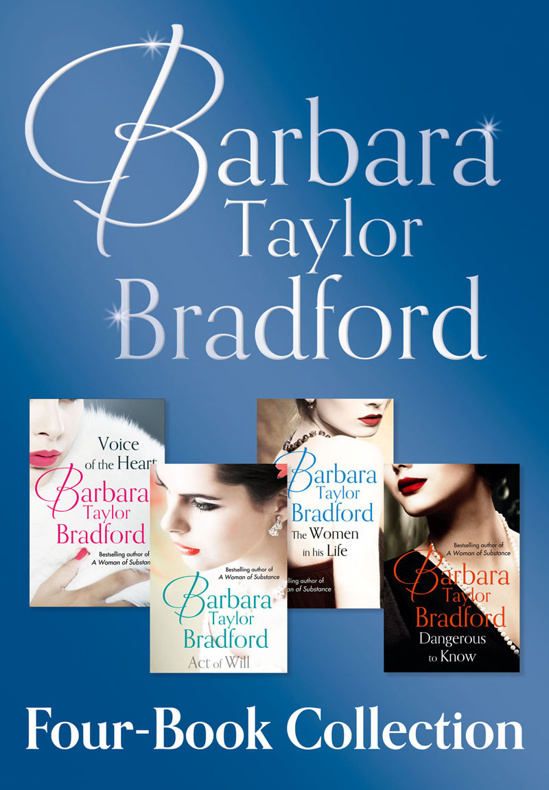 Barbara Taylor Bradford Barbara Taylor Bradford's 4-Book Collection barbara taylor bradford three weeks in paris