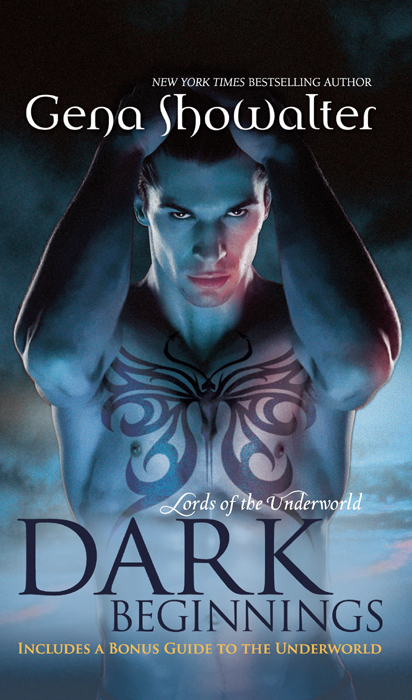 Gena Showalter Dark Beginnings: The Darkest Fire / The Darkest Prison / The Darkest Angel new beginnings