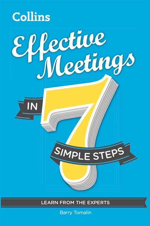 Barry Tomalin Effective Meetings in 7 simple steps negotiation skills in 7 simple steps