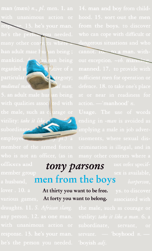 лучшая цена Tony Parsons Men from the Boys