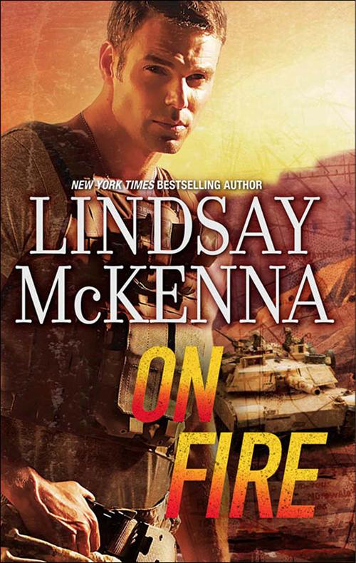 Lindsay McKenna On Fire man on fire