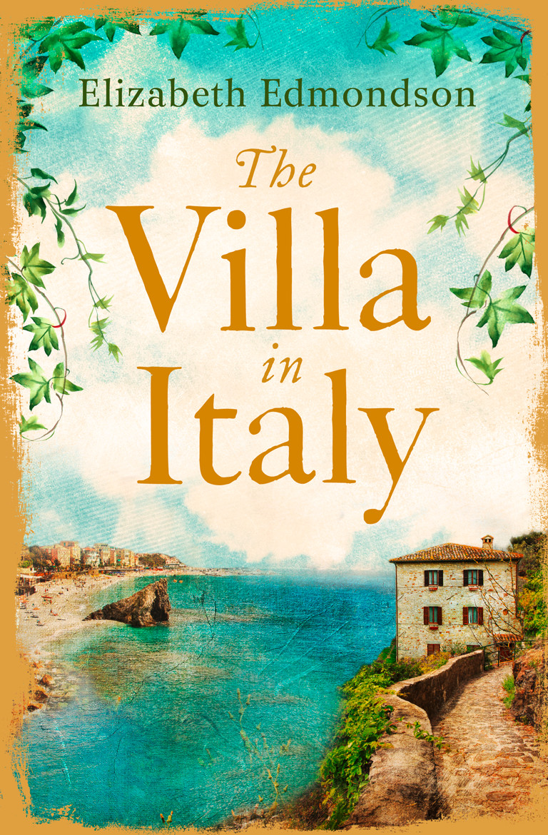 Elizabeth Edmondson The Villa in Italy: Escape to the Italian sun with this captivating, page-turning mystery full page bookmark magnifier