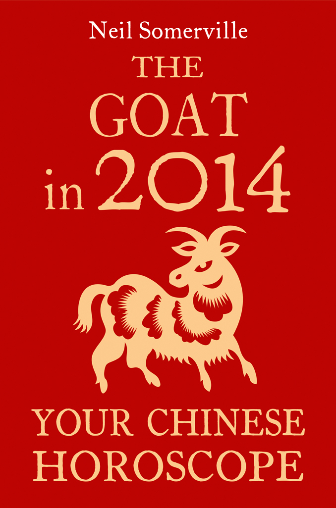 Neil Somerville The Goat in 2014: Your Chinese Horoscope скальп петуха veniard chinese cock cape