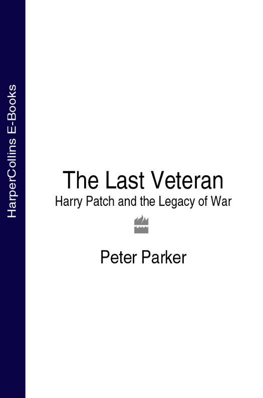 Фото Peter Parker The Last Veteran: Harry Patch and the Legacy of War