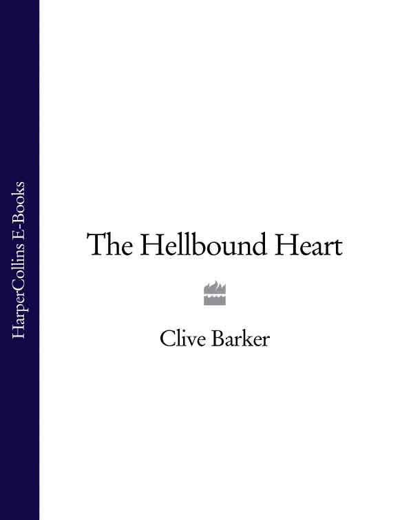 Clive Barker The Hellbound Heart clive barker cabal