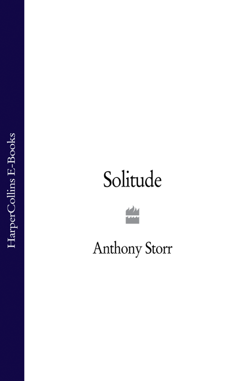 Anthony Storr Solitude suzanne vega solitude standing