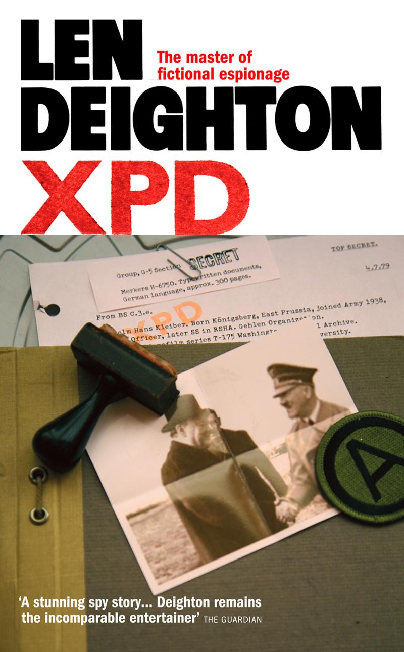 Len Deighton XPD len deighton ss gb