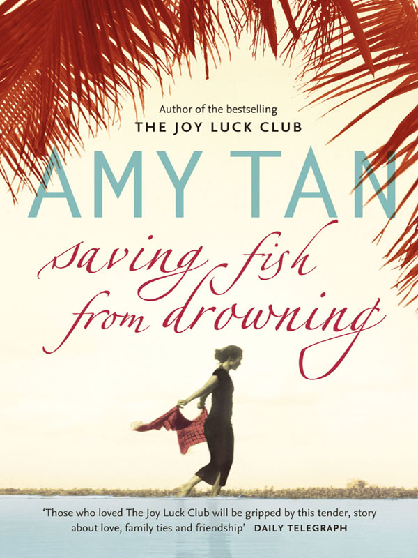 Amy Tan Saving Fish From Drowning annie claydon saving baby amy