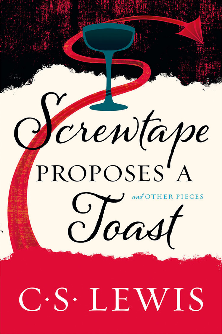 C. S. Lewis Screwtape Proposes a Toast cutting sliced toast mold white coffee