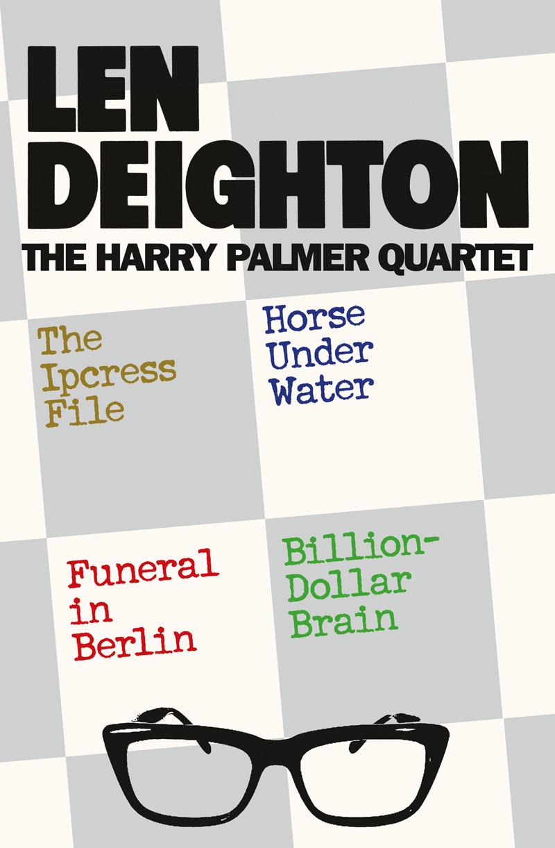 Len Deighton The Harry Palmer Quartet the concord quartet