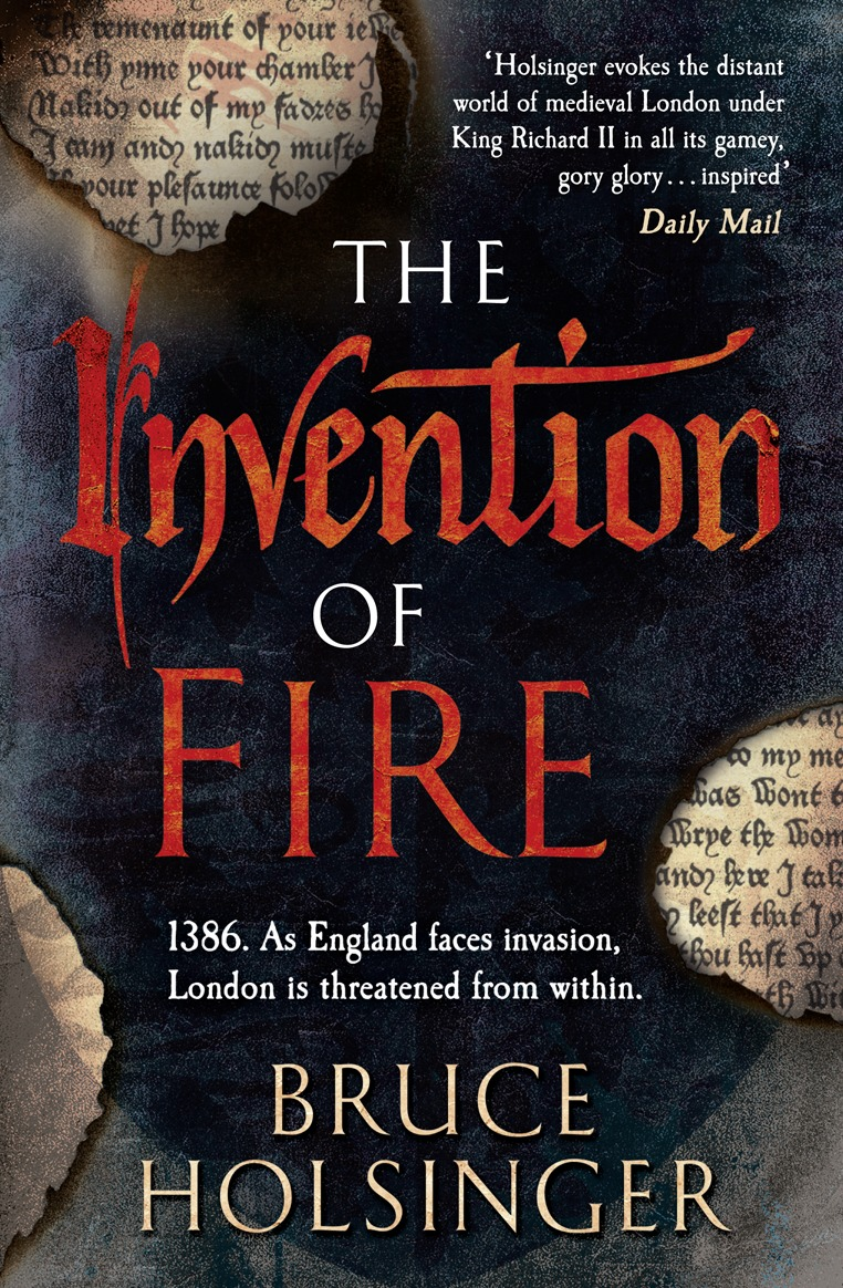 Bruce Holsinger The Invention of Fire kidd s the invention of wings