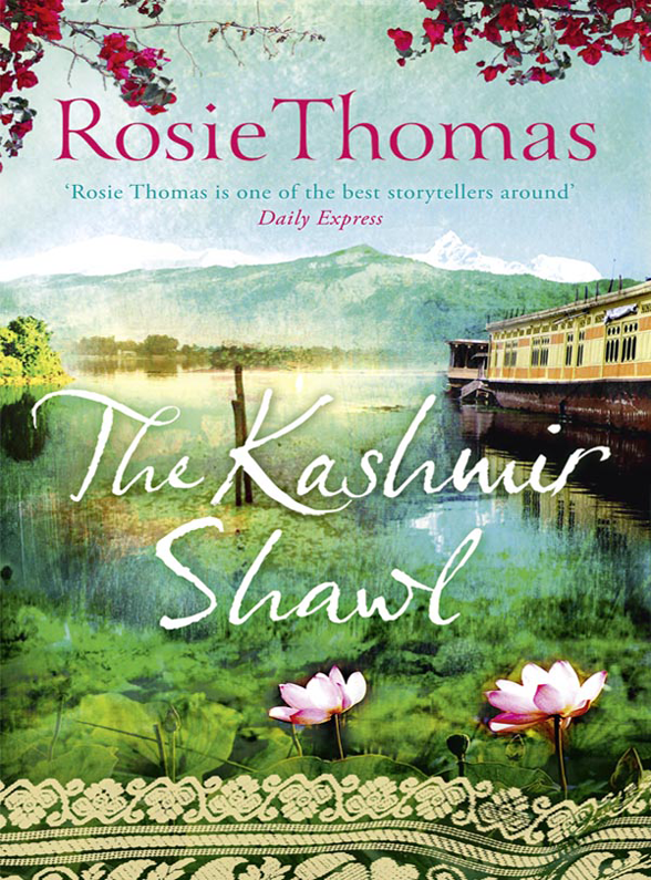 Rosie Thomas The Kashmir Shawl цена и фото