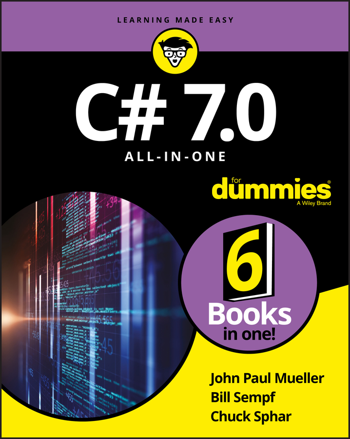 Bill Sempf C# 7.0 All-in-One For Dummies sue jenkins web design all in one for dummies